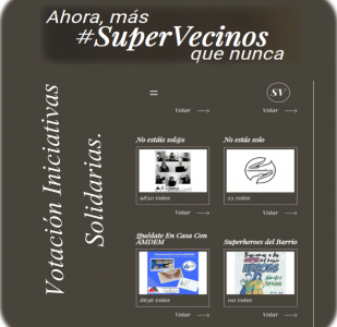 #Supervecinos Iniciativas Solidarias
